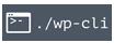 Área W3 desarrollo con WP-CLI